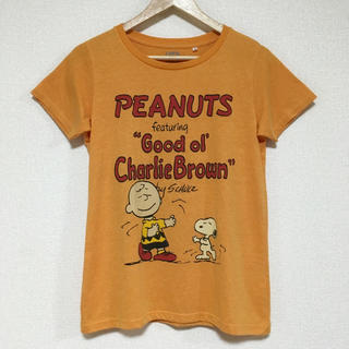 スヌーピー(SNOOPY)のスヌーピー&チャーリーブラウンTシャツ♪(Tシャツ(半袖/袖なし))