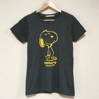 スヌーピー(SNOOPY)のスヌーピー  シンプルTシャツ♪(Tシャツ(半袖/袖なし))