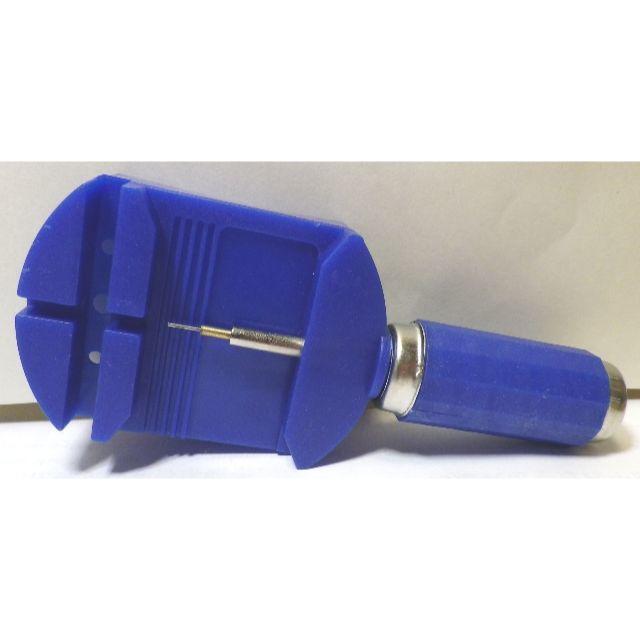 NEW腕時ベルト こま外し工具 新品 メタルベルトこま外し予備ピン付きの通販 by kazx shop|ラクマ