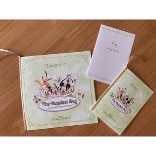 ディズニー(Disney)のディズニーアンバサダー ホテル 結婚式 席次表、卓上カレンダー(カレンダー/スケジュール)