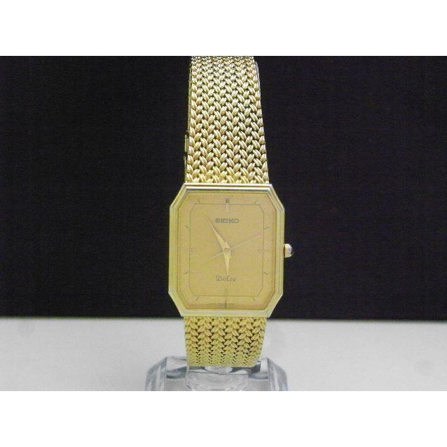 SEIKO - SEIKO Dolce 腕時計 ゴールド 本体ベルト一体型の通販 by Arouse 's shop|セイコーならラクマ