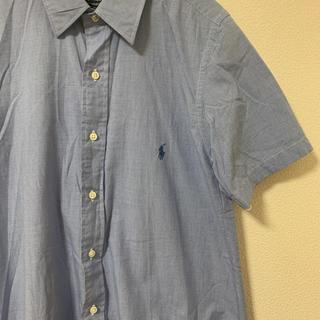 ポロラルフローレン(POLO RALPH LAUREN)のラルフローレン  シャツワンピース シャツ 半袖(ひざ丈ワンピース)