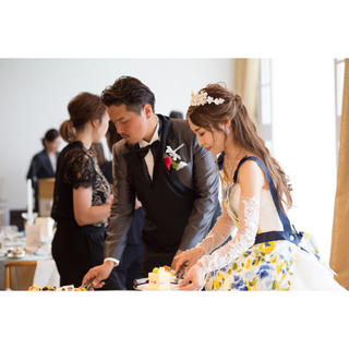 フランフラン(Francfranc)の新郎ケーキバイトエプロン 結婚式(その他)