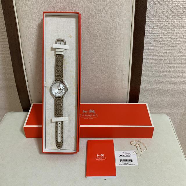 オメガ 時計 本 | COACH - coach  シグネチャー&レザー 腕時計の通販 by 幸's shop|コーチならラクマ