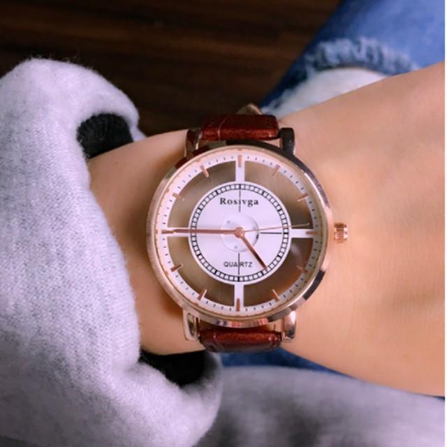 フランクミュラー 時計 ロングアイランド | �売り切れ必至�】海外直輸入�デザインウォッ�☆ブラウン�通販 by poo★'s shop|ラクマ