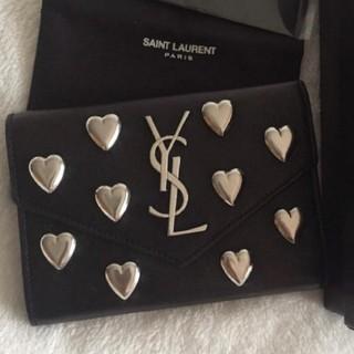 サンローラン(Saint Laurent)のイブサンローラン三つ折り財布(折り財布)