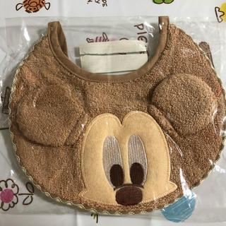 ミッキーマウス(ミッキーマウス)のミッキーのスタイ!(ベビースタイ/よだれかけ)