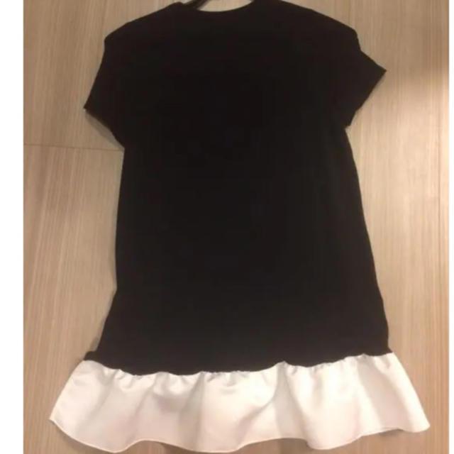 BARNEYS NEW YORK(バーニーズニューヨーク)のYOKO CHAN ヨーコチャンアシンメトリーカットソー♡フリルTシャツ レディースのトップス(Tシャツ(半袖/袖なし))の商品写真