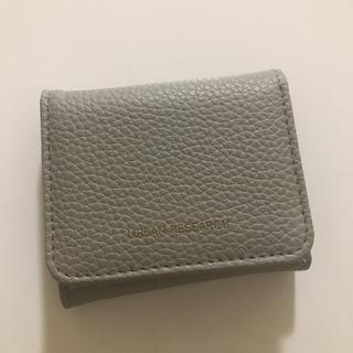 アーバンリサーチ(URBAN RESEARCH)の【新品・未使用】三つ折りミニ財布(財布)