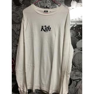 KITH ロゴTシャツ White Mサイズ(Tシャツ/カットソー(七分/長袖))
