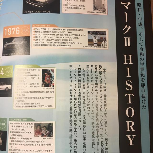 トヨタ(トヨタ)の⭐️ トヨタ・マークII ヒストリー特集 エンタメ/ホビーの雑誌(車/バイク)の商品写真
