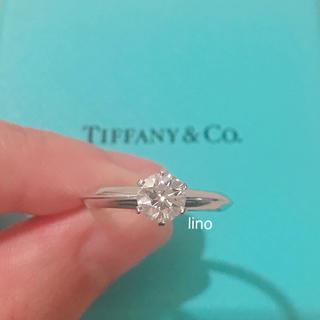 ティファニー(Tiffany & Co.)のティファニー Tiffany ソリティア ダイヤモンド リング 0.59ct(リング(指輪))
