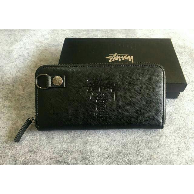 STUSSY - ❤ ステューシーSTUSSY ❤  長財布 ブラック 新品同様 の通販 by 千💓絵子's shop|ステューシーならラクマ