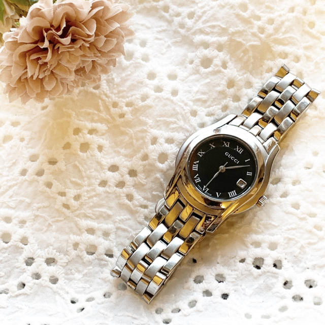 Gucci - 稼働品 良品!グッチ!レディース腕時計の通販 by BF_大幅値下げ不可!|グッチならラクマ