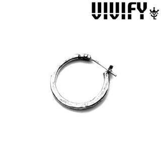 VIVIFY - 新品未使用 VIVIFY ビビファイ Hammered Hoop Pierce
