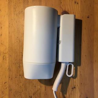 ムジルシリョウヒン(MUJI (無印良品))の無印良品 トラベル用ドライヤー:変換アダプター付(ドライヤー)