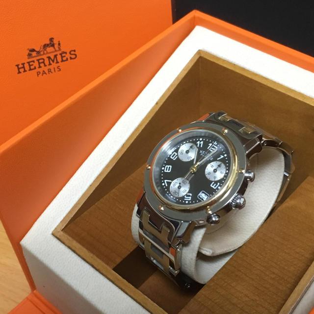 オメガ 時計 安いモデル - Hermes - エルメス クリッパー 腕時計の通販 by らくらく|エルメスならラクマ