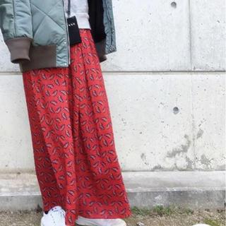ビューティアンドユースユナイテッドアローズ(BEAUTY&YOUTH UNITED ARROWS)のBEAUTY &YOUTH  リバティープリントマキシ丈スカート(ロングスカート)