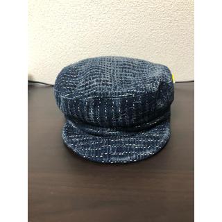 ポーター(PORTER)のporter classic ポータークラシック 刺し子 キャスケット 帽子(キャスケット)