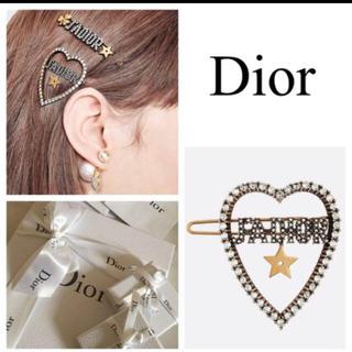 ディオール(Dior)の値下げ!ディオール♡新作ヘアクリップ(バレッタ/ヘアクリップ)