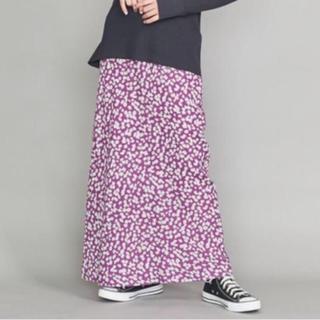 ビューティアンドユースユナイテッドアローズ(BEAUTY&YOUTH UNITED ARROWS)のビューティーアンドユース  フラワープリントマキシスカート(ロングスカート)