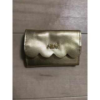 アーカー(AHKAH)のアーカー 付録 ミニ三つ折り財布(財布)