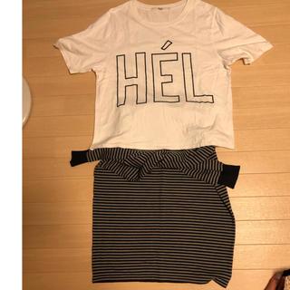 アナザーエディション(ANOTHER EDITION)の再値下げ!!ティシャツ 、スカート セット(セット/コーデ)