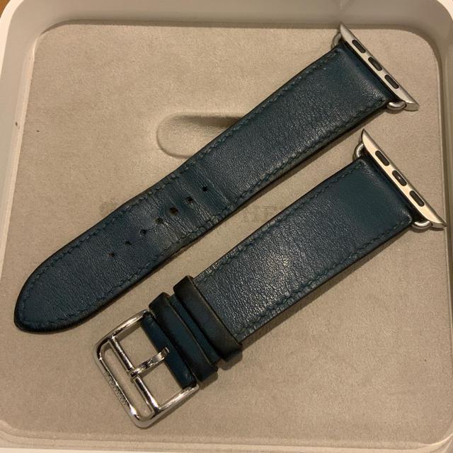オメガ 時計 黒革 、 Hermes - (正規品) Apple Watch シンプルトゥール エルメス 42mmの通販 by Apple's shop|エルメスならラクマ
