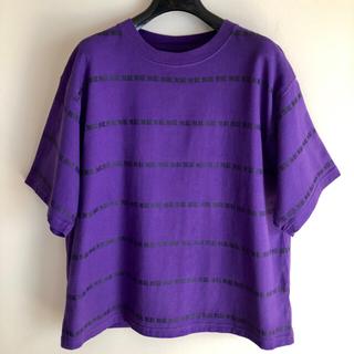 エックスガール(X-girl)の X-GIRL X JOJO MUDA (無駄) BORDER コラボ Tシャツ(Tシャツ(半袖/袖なし))
