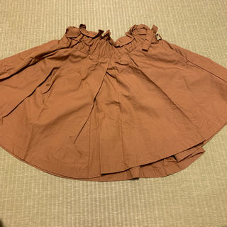 BREEZE - アプレレクール ブラウン スカート