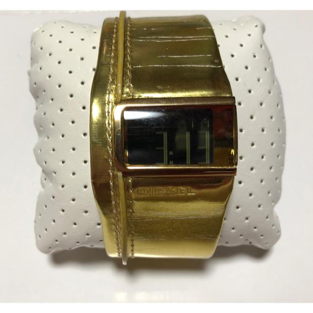 DIESEL - ディーゼル 腕時計 ゴールドの通販 by もむ's shop|ディーゼルならラクマ