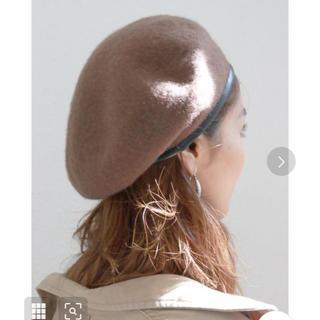アングリッド(Ungrid)のUngrid パイピングベレー帽(ハンチング/ベレー帽)