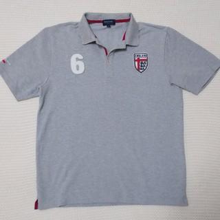フィールドドリーム(field/dream)のfield/dream(フィールドドリーム)★ポロシャツ グレー★Lサイズ 半袖(ポロシャツ)
