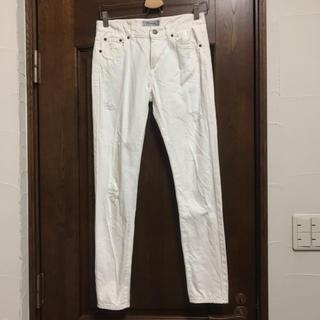 リランドチュール(Rirandture)のリランドチュール 0 S ダメージ デニム ジーンズ ズボン パンツ (デニム/ジーンズ)