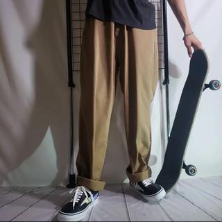 ラルフローレン(Ralph Lauren)のRALPH LAUREN チノパン ブラウン ラルフローレン スケート ゆるめ(スラックス)