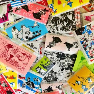 リトルミー(Little Me)のフレークシール 100枚♡ムーミン(テープ/マスキングテープ)