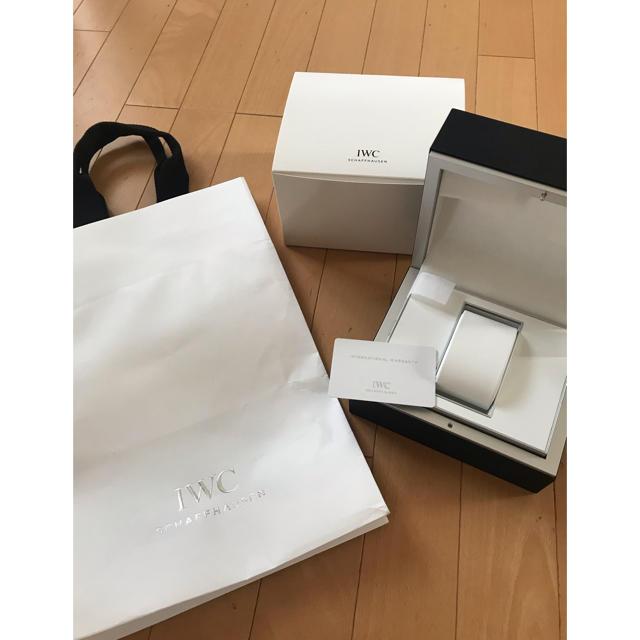 IWC - 腕時計★IWC★空き箱の通販