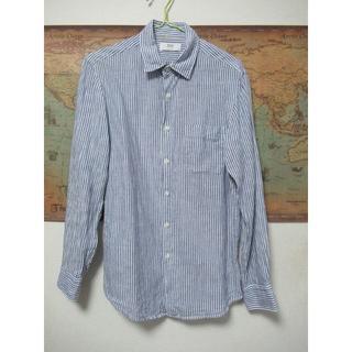 ユニクロ(UNIQLO)のユニクロ 麻シャツ Sサイズ リネン(シャツ)