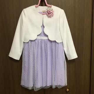 プティマイン(petit main)のプティマイン 120 入学式 女の子 ボレロ ワンピース(ドレス/フォーマル)