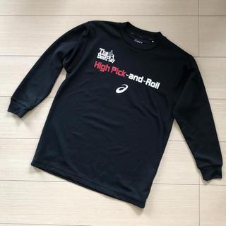 アシックス(asics)のasics アシックス バスケット 黒ロングTシャツ140(Tシャツ/カットソー)