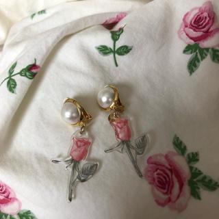 ハニーサロン(Honey Salon)のRose earrings♡(イヤリング)