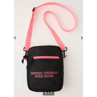 ロデオクラウンズワイドボウル(RODEO CROWNS WIDE BOWL)のRCWB✳︎メッシュロゴポーチ✳︎web完売品‼️(ポーチ)