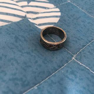 インディアン(Indian)のホピ族 ハンドメイド リング 10号 指輪 シルバーリング(リング(指輪))