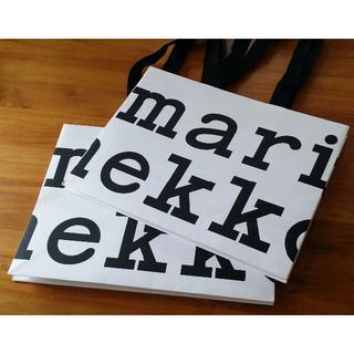 マリメッコ(marimekko)のmarimekko 紙袋(その他)
