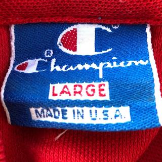 チャンピオン(Champion)のチャンピオン ポロシャツ アメリカ製品 90s ヴィンテージ 青タグ(ポロシャツ)