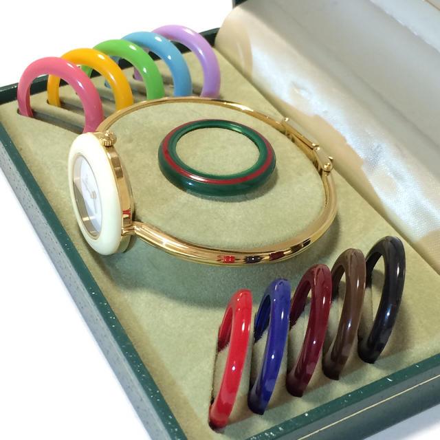 ロレックス 時計 ラバー - Gucci - 1.美品 グッチ 時計 チェンジベゼルの通販 by 夢市場|グッチならラクマ