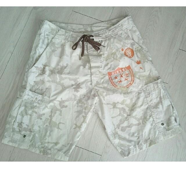 DIESEL(ディーゼル)のDIESEL カモフラ ARMY 迷彩メンズ水着 S スイムウェア 格安 メンズの水着/浴衣(水着)の商品写真