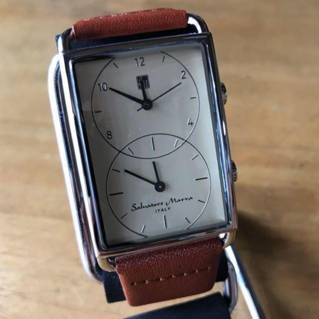 Salvatore Marra - 新品✨サルバトーレマーラ クオーツ メンズ 腕時計 SM18108-SSCMの通販 by てっちゃん(´∀`)|サルバトーレマーラならラクマ
