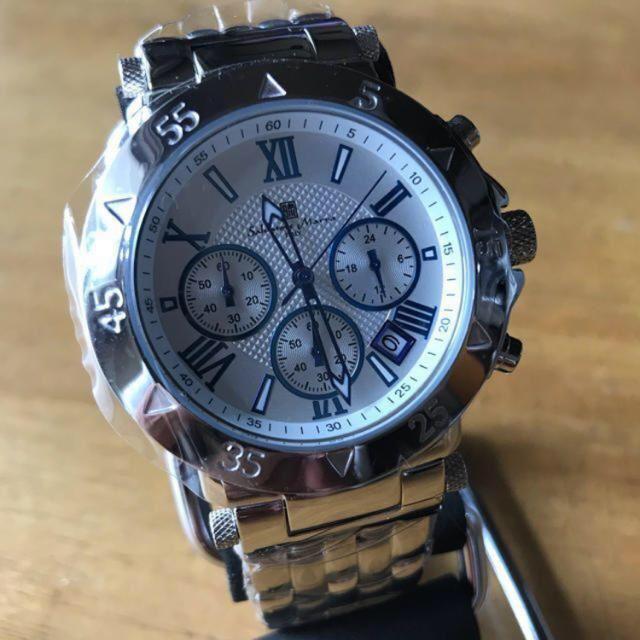 最高級のグラスヒュッテ 時計コピー - Salvatore Marra - 新品✨サルバトーレ マーラ クロノグラフ 腕時計 SM8005-SSWHの通販 by てっちゃん(´∀`)|サルバトーレマーラならラクマ