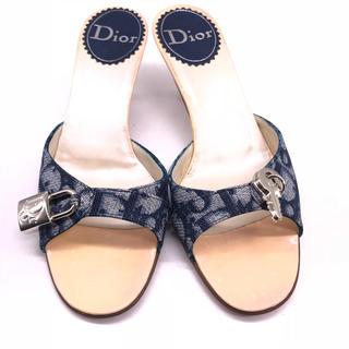 クリスチャンディオール(Christian Dior)のクリスチャン ディオール トロッター柄サンダル(サンダル)